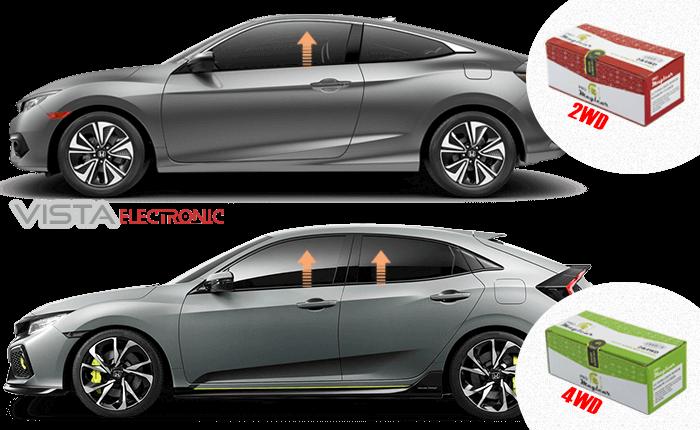 Auto power windows closer for car