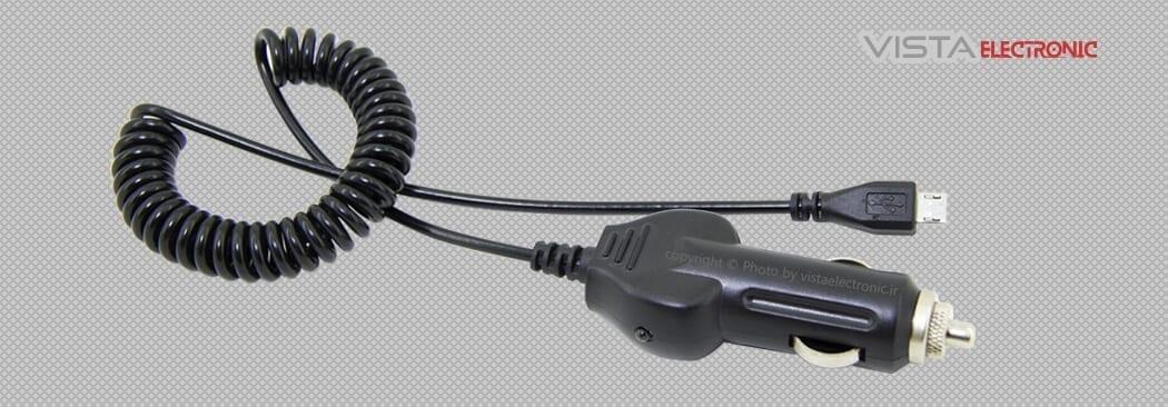 شارژر فندکی ریموت دزدگیر مدل USB